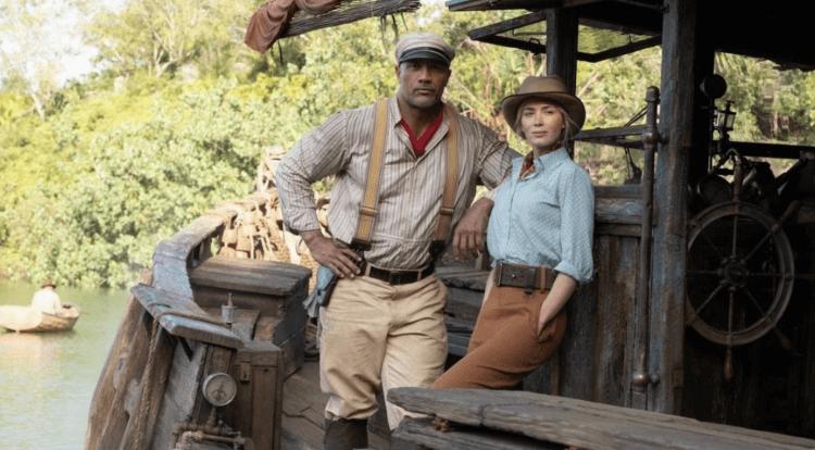 巨石強森與愛蜜莉布朗主演的《叢林奇航》也是迪士尼睽違已久的全新電影嘗試。