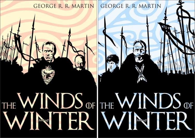 《凜冬的寒風》粉絲製作封面。