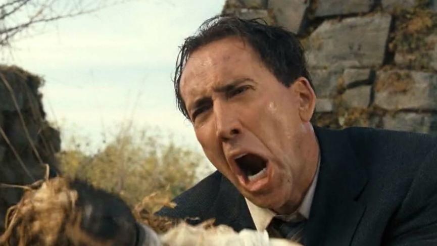 尼可拉斯凱吉 恐怖電影《 惡靈線索 》 劇照 。