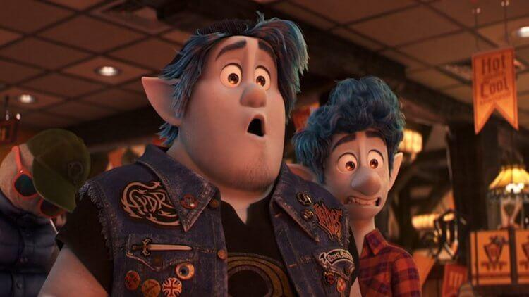 湯姆霍蘭德 (Tom Holland) 與克里斯普瑞特合作動畫電影《1/2 的魔法》(Onward)。