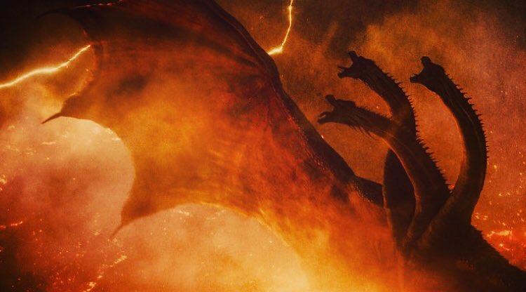 《哥吉拉 Ⅱ:怪獸之王》中令粉絲期待萬分的登場怪獸:王者基多拉。