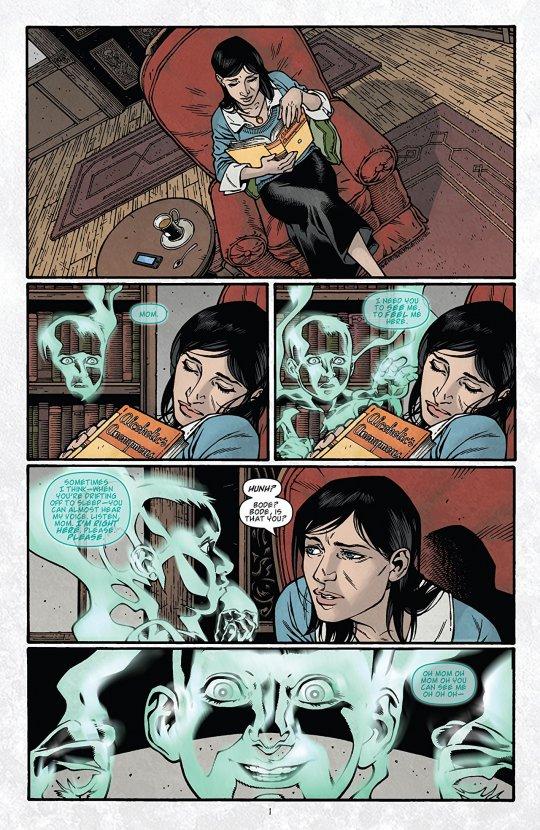 《致命鑰匙》(Locke & Key) 漫畫