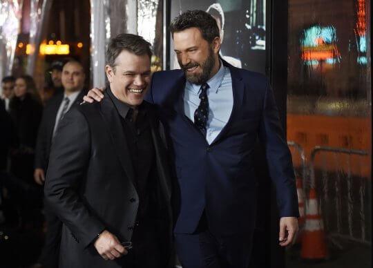 麥特戴蒙 (Matt Damon) 與班艾佛列克 (Ben Affleck)