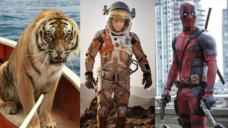 重映又一波!李安奪奧斯卡之作《少年 Pi 的奇幻漂流》、麥特戴蒙求生的《絕地救援》、R級英雄片《死侍》等電影,呼喚影迷!