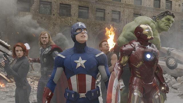 《復仇者聯盟》(The Avengers) 劇照。