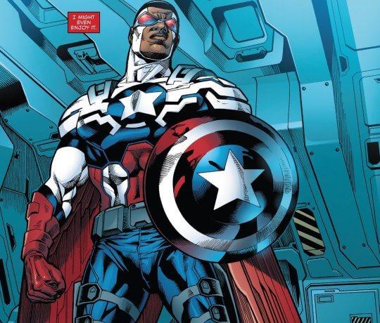 美國隊長原著漫畫。