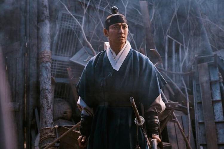 《李屍朝鮮》由朱智勳飾演的主角李蒼。
