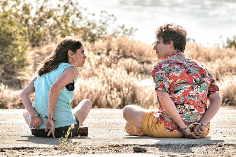 《棕櫚泉不思議》安迪山伯格與克莉絲汀米利歐提。