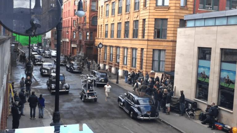 《美國隊長》第一場戲就直接到倫敦拍攝
