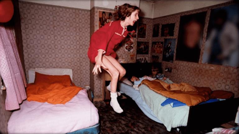 華倫夫婦所參與調查的,恩菲爾德靈異事件所留下的真實照片。