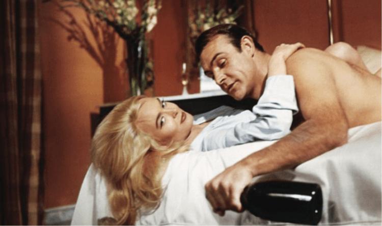 史恩康納萊 (Sean Connery) 曾飾演過 007 龐德,電影台詞經常有具性暗示的笑話。