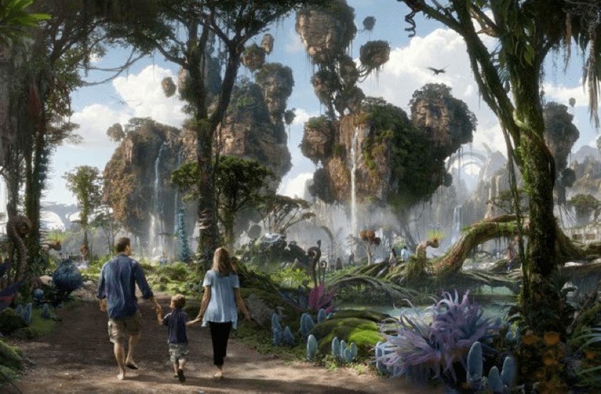 已經在佛州 迪士尼 樂園開張的 潘朵拉世界