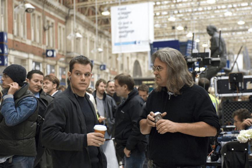 因《 神鬼認證 》系列結緣的 麥特戴蒙 (左) 與 保羅葛林葛瑞斯 (右)。