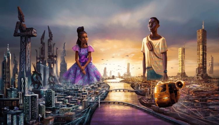 非洲未來主義風格動畫《Iwájú》。