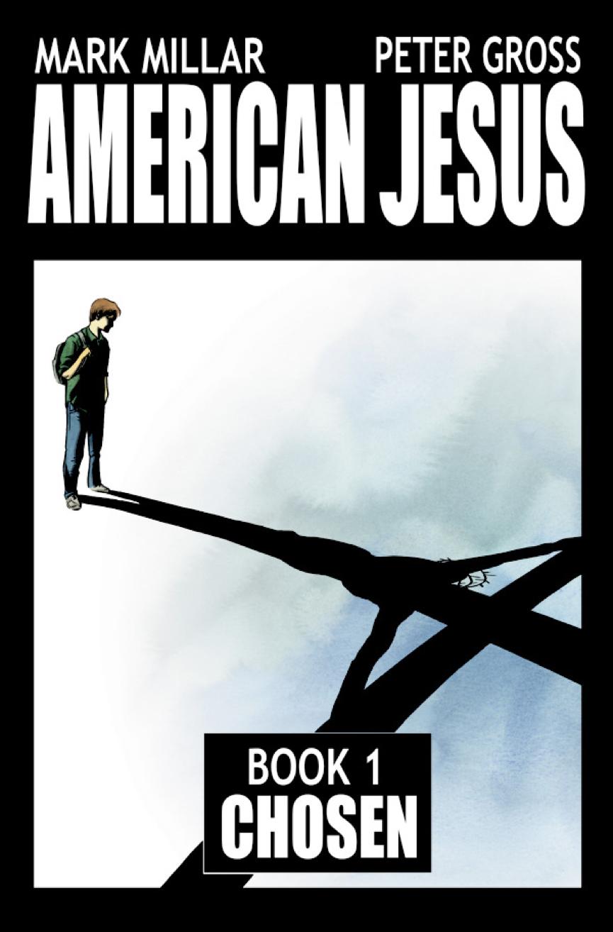 馬克米勒 漫畫作品 《 美國基督 》。