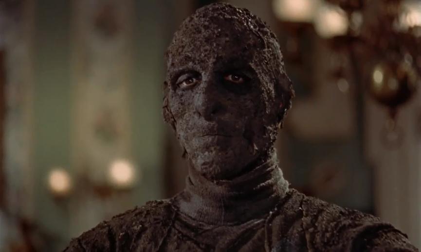 《 永眠的詛咒 》 克里斯多福李 飾演的 木乃伊 ,為整部戲最大亮點。