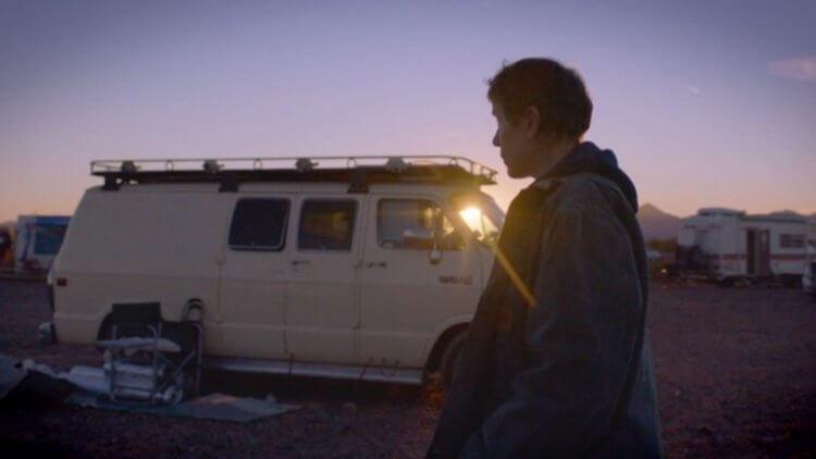 《游牧人生》電影劇照。