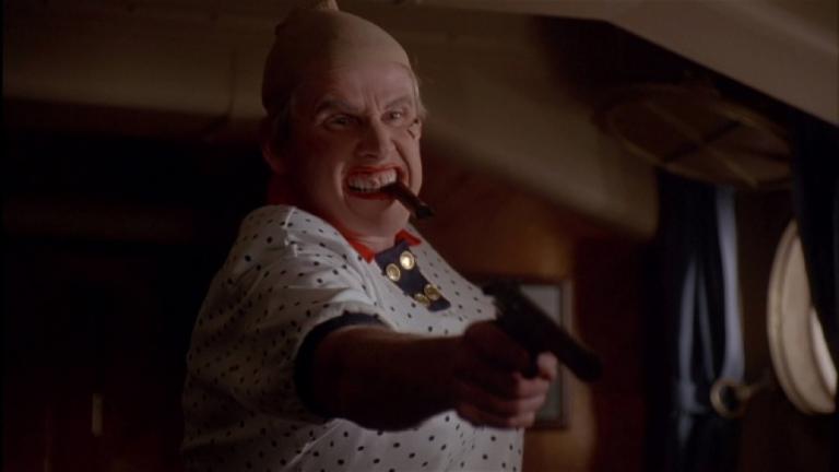 蓋瑞布希《魔鬼戰將》劇照。