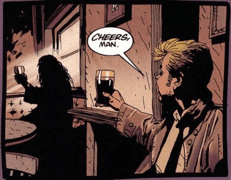 《地獄神探》漫畫原作者亞倫摩爾其實偶爾會在故事中現身......