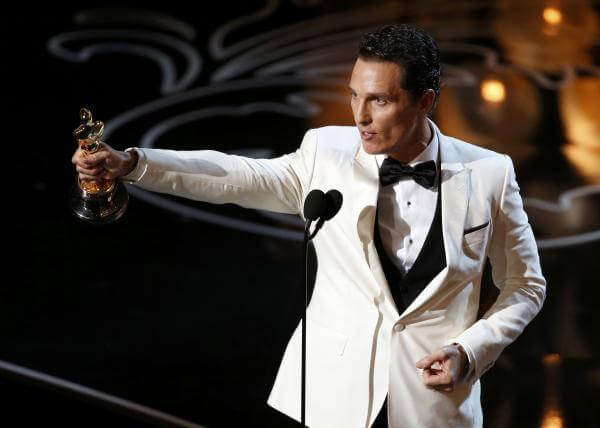 奧斯卡最佳男主角馬修麥康納 (Matthew McConaughey)