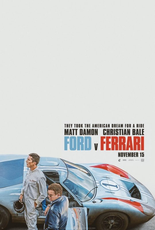 賽道狂人 Ford v Ferrari 海報