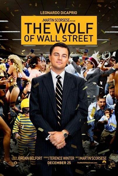 華爾街之狼 電影海報