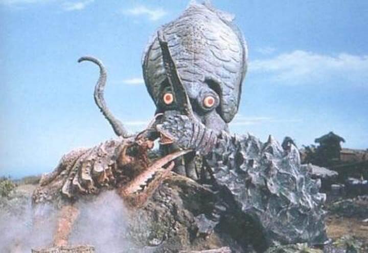 日本東寶特攝系列 1970 年的原創怪獸作品,獨一無二也是絕無僅有。