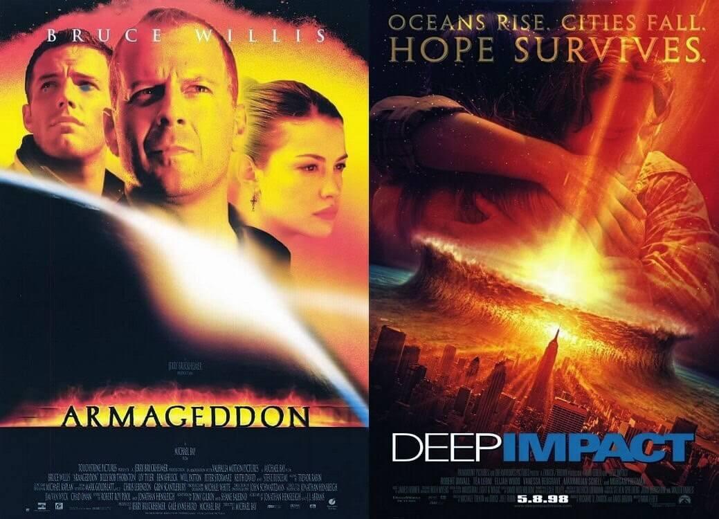 夢工廠 與 迪士尼 《 世界末日 》《 彗星撞地球 》雙方劇組諜對諜。