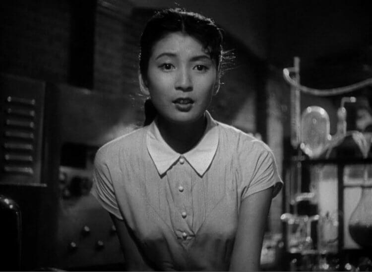 1954 年《哥吉拉》電影中的山根博士之女,山根惠美子。
