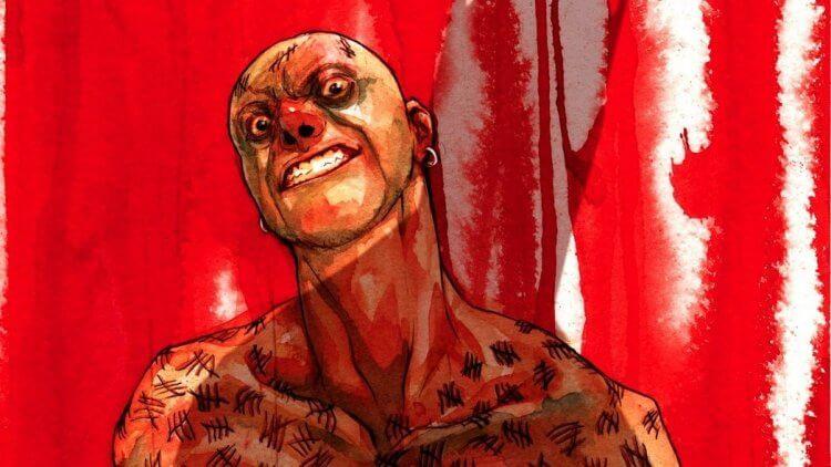 維克多薩斯在漫畫裡擅長以刀犯案,每殺一人就會在自己身上刻下痕跡。