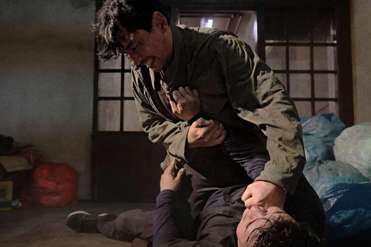 韓國動作電影《魔鬼對決》劇照。