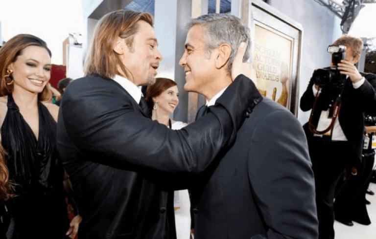 布萊德彼特與喬治克隆尼是多年的好萊塢同事兼好友,合作《瞞天過海》時整人伎倆更是花招百出。