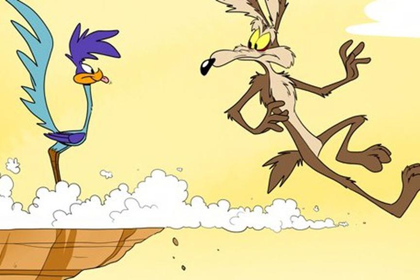 嗶嗶鳥 與 大野狼 。