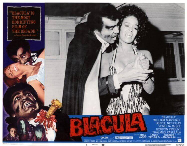 《黑古拉》(Blacula) 劇照。