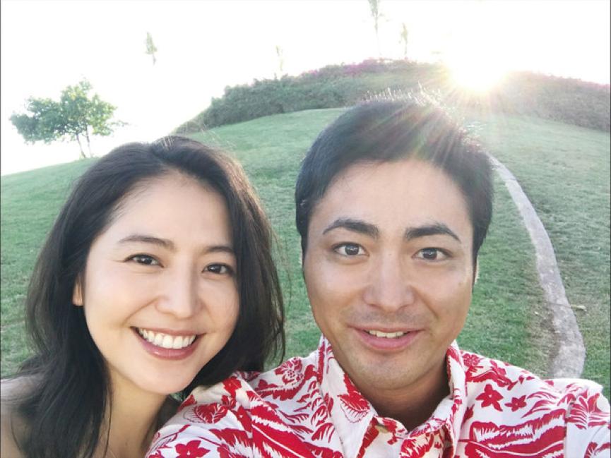 《 第50次初吻 》男女主角 山田孝之 長澤雅美 合照。