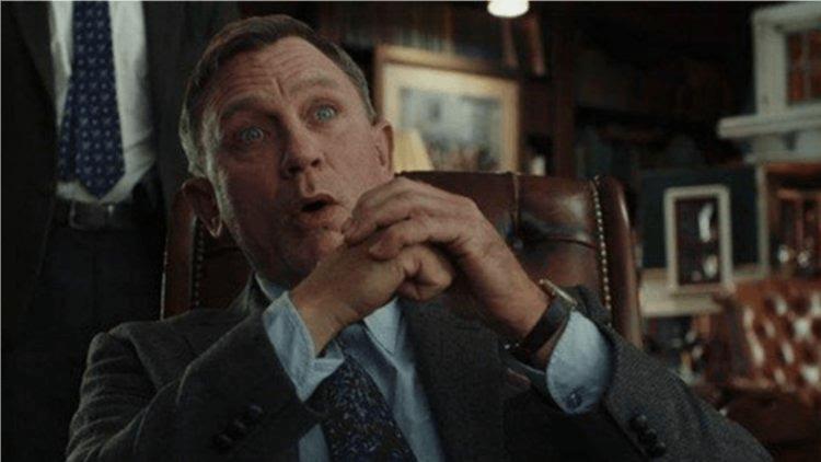 丹尼爾克雷格銀幕形象看似嚴肅,但他其實也能演搞笑電影,《鋒迴路轉》的劇本讓他大展冷面笑匠的一面。