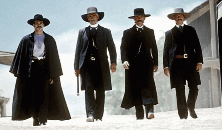 麥可賓恩演出過的西部片《絕命終結者》(Tombstone)。