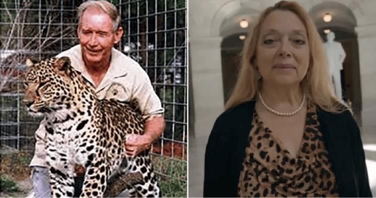 卡蘿巴斯金被懷疑涉嫌前夫的失蹤疑案。