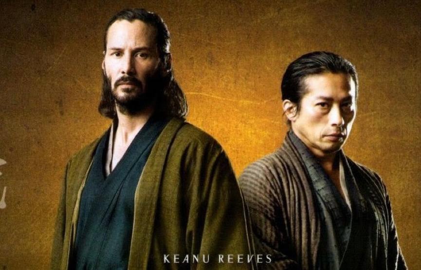 基努李維 與 真田廣之 曾共演 電影 《 浪人47 》,今將在 《 捍衛任務3 》中殊死對決