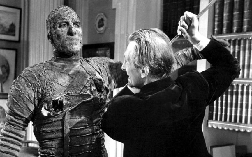 昔日技術讓 木乃伊 在電影中只能是個又笨又呆的大木頭。