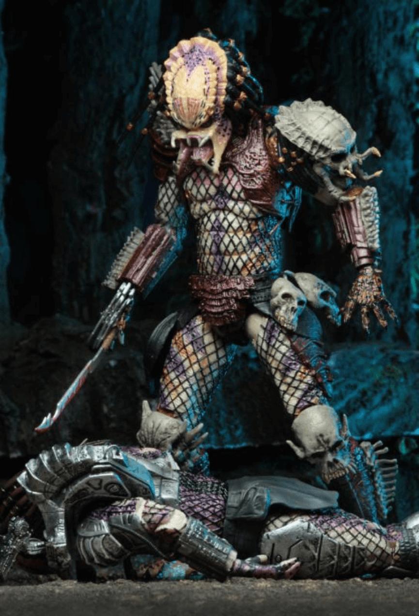 壞份子 : 壞血終極戰士 喜歡將人頭骨掛在身上。