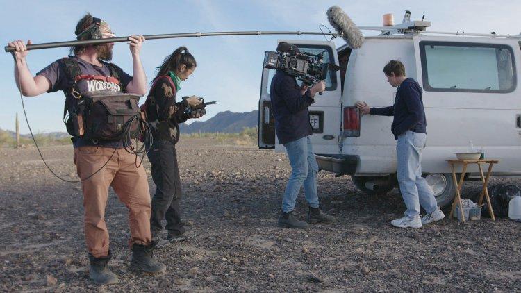 趙婷執導電影《游牧人生》。