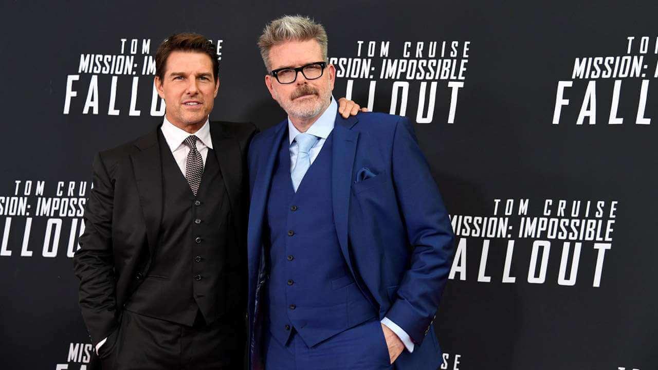 《不可能的任務》 黃金陣容:編劇兼導演克里斯多福麥奎里以及「伊森韓特」湯姆克魯斯。