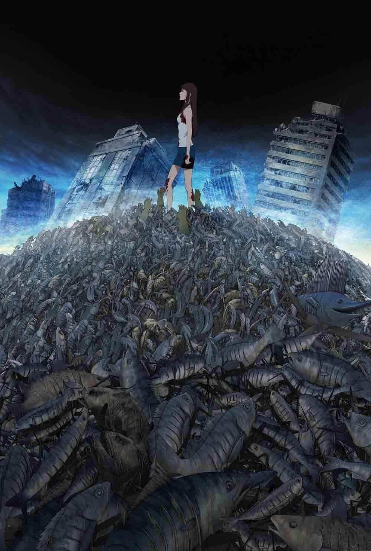 OVA 動畫 《 魚 》 主視覺圖 。