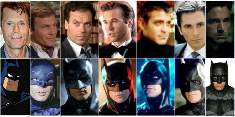 執導蝙蝠俠的導演很多,飾演蝙蝠俠的演員也是⋯⋯