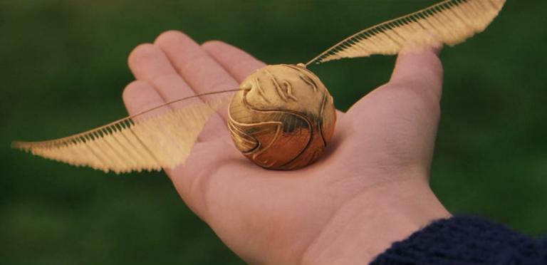 《哈利波特》導演只從片場帶回了金探子作為紀念品