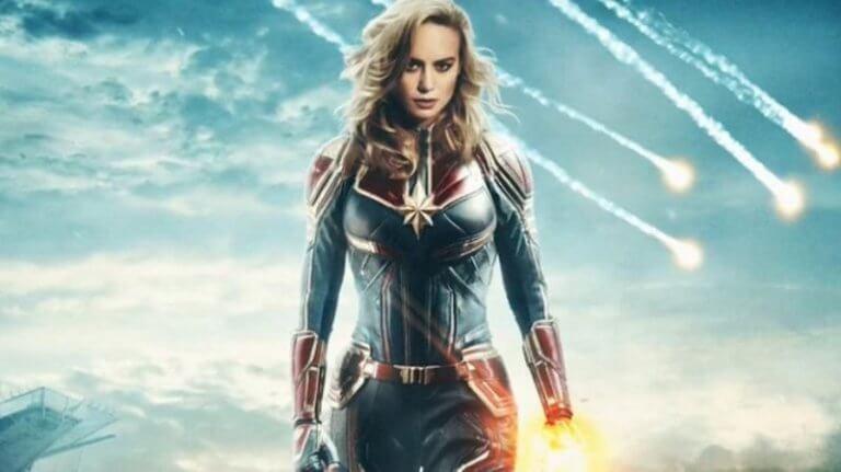 將於 3 月 6 日起在台上映的《驚奇隊長》(Captain Marvel)。