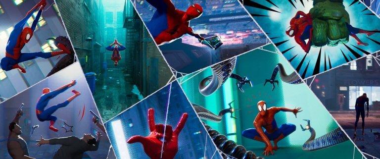 動畫電影《蜘蛛人:新宇宙》讓6位蜘蛛人跨宇宙相會。