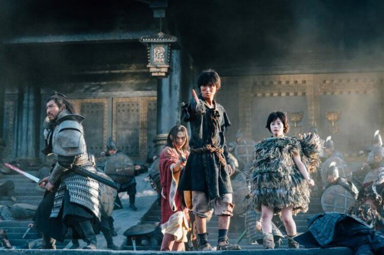 《王者天下》真人電影版的戰鬥畫面也是一大看點。