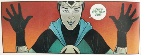 漫威漫畫中的洛基,是個令人又愛又恨的小淘氣。